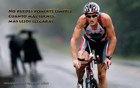 triatleta frase