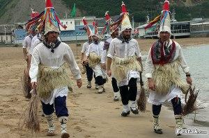 Baile vasco playa